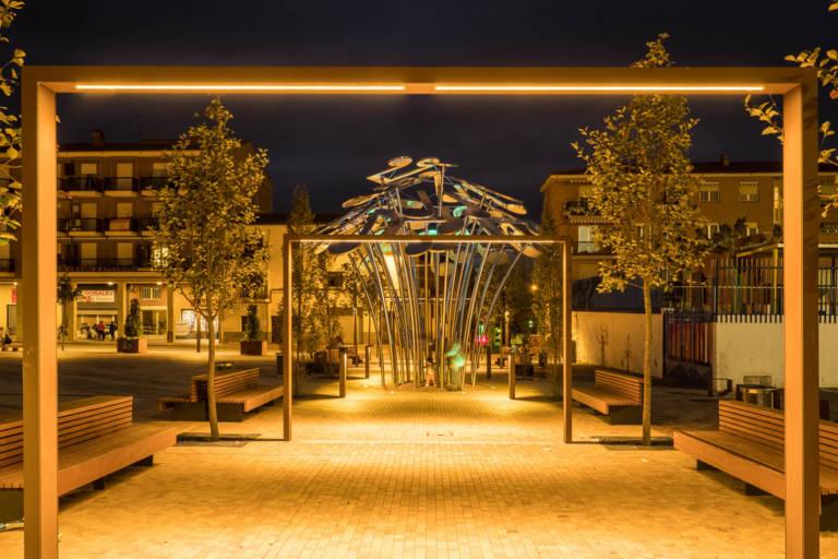 019 2018 10 16 Fotografias Osaba Iluminacion Plaza Mayor Albelda Joaquin Mayayo Fotografo La Rioja