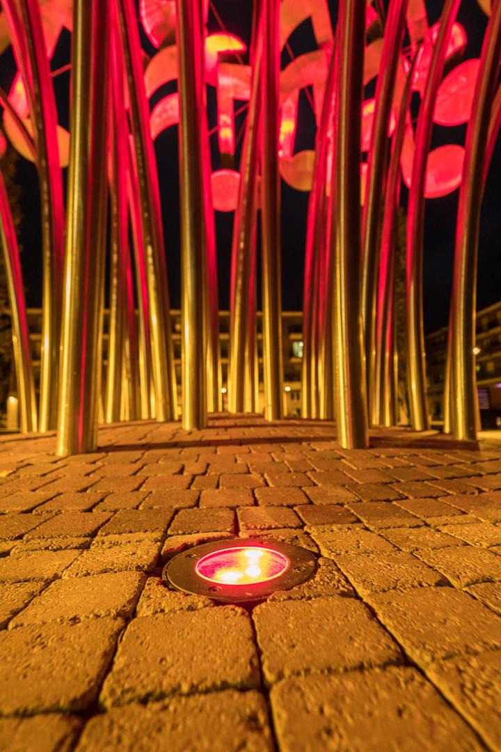 022 2018 10 16 Fotografias Osaba Iluminacion Plaza Mayor Albelda Joaquin Mayayo Fotografo La Rioja