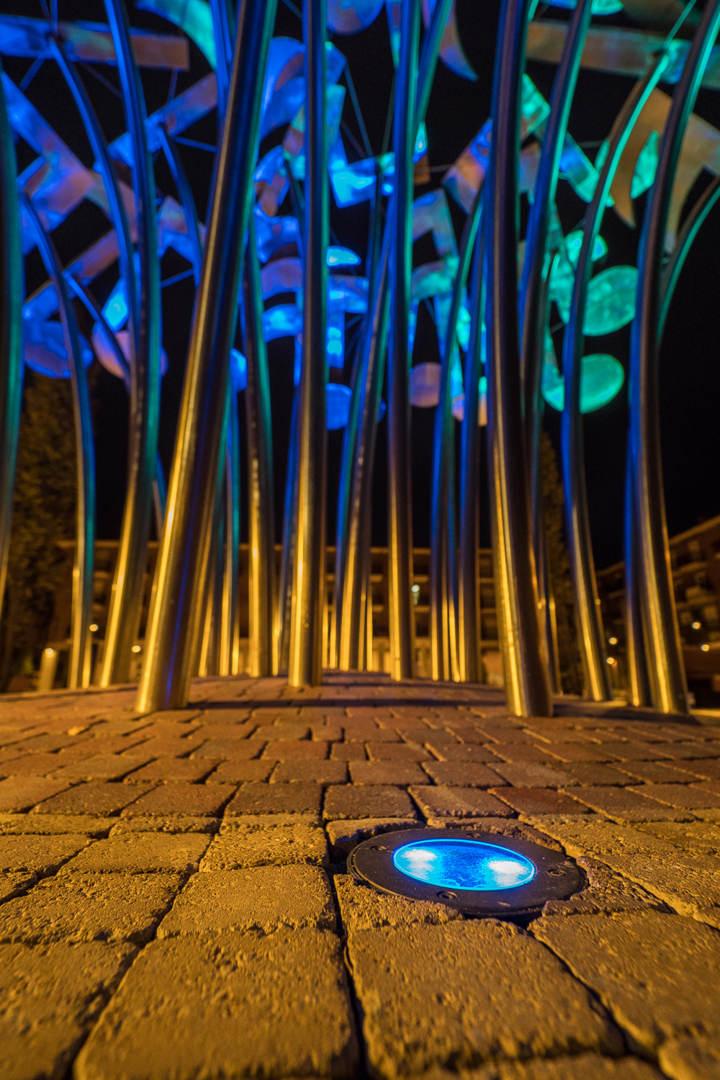 024 2018 10 16 Fotografias Osaba Iluminacion Plaza Mayor Albelda Joaquin Mayayo Fotografo La Rioja